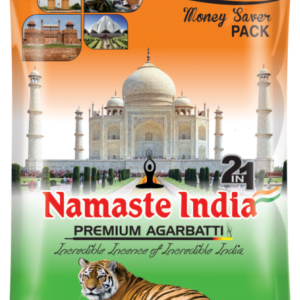 Namaste India 2 in 1 Agarbatti 1.5 Kg incense sticks
