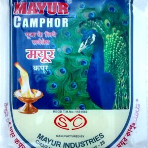 Mayur original raw Camphor Kapur kapoor for pooja or havan 400 gm