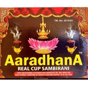 Aaradhana Loban Dhoop 60 Sambrani benzoin Cups