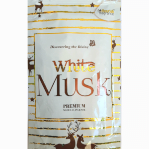 White Musk Agarbatti Flourish Fragrance sticks pack of 6